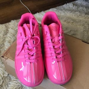 K-Swiss Hot Pink Sneakers